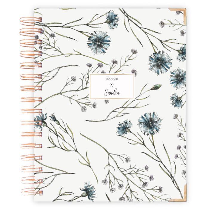 Floral Notizbuch Planer Kalender