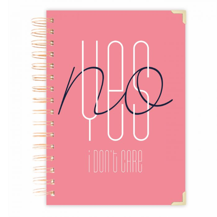 Girlpower Daily planner notebook bullet journal diary personalised diary