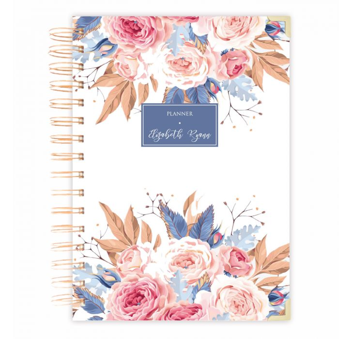 Daily planner notebook bullet journal diary personalised diary